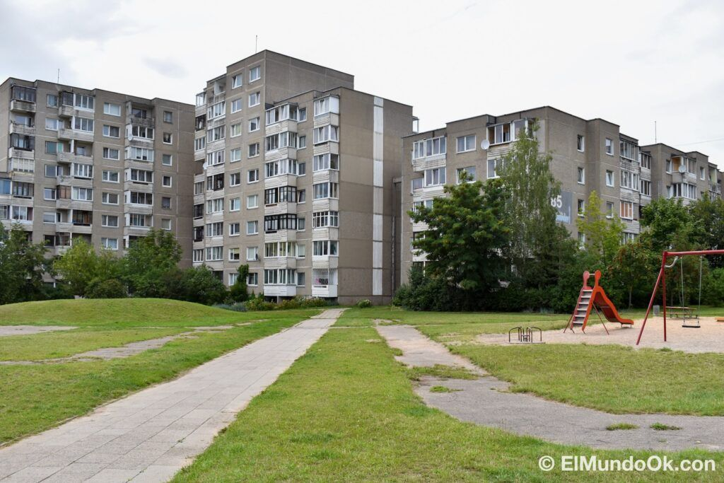 Where was the Chernobyl series filmed in Lithuania? The neighborhood of Fabijoniskes, the supposed city of Pripyat in the HBO series, location of Chernobyl in Vilnius.