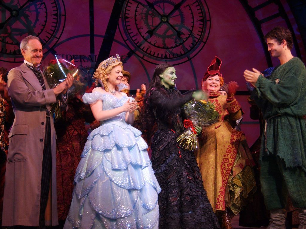 Wicked in London's West End Theatre.
