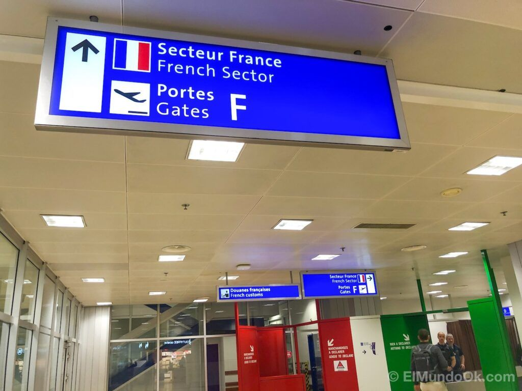French Sector at the Geneva airport.